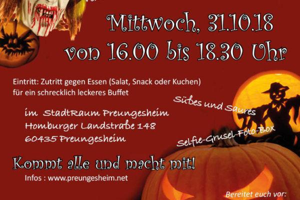 Preungesheim feiert Halloween
