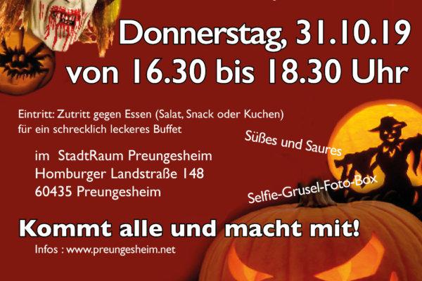Halloween-Feier im StadtRaum