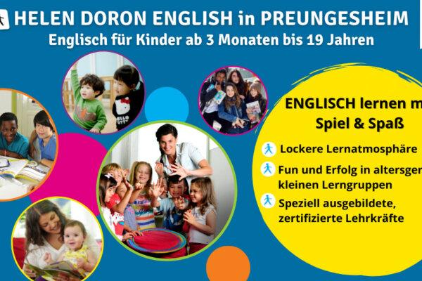 Englisch für Kinder im StadtRaum Preungesheim