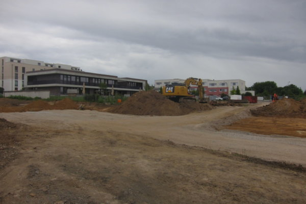 Baubeginn gymnasiale Oberstufe