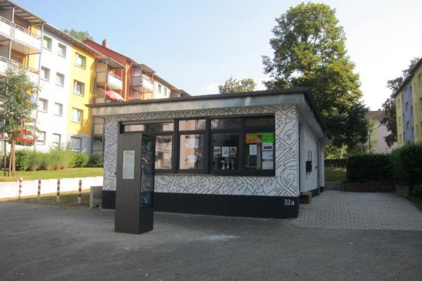Fahrradstation und Radwerkstatt im Nachbarschaftsbüro