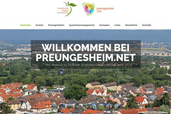Werbung auf preungesheim.net